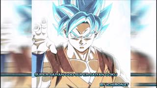 Super Saiyan God Super Saiyan (SSGSS) Goku Theme Song