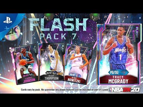 NBA 2K20 - MyTEAM: Flash Pack 7   PS4