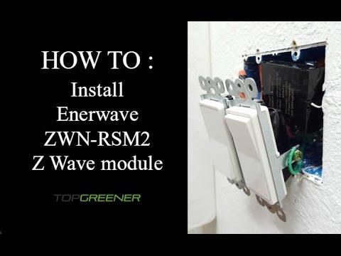 Z-Wave | Enerwave Z-Wave Plus Micro Switch Relay