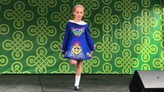 Mackenzie at St. Patrick'sDay festival