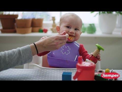 Barnmat för växande barn