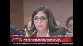 Cobertura 46 Asamblea Ordinaria OEA