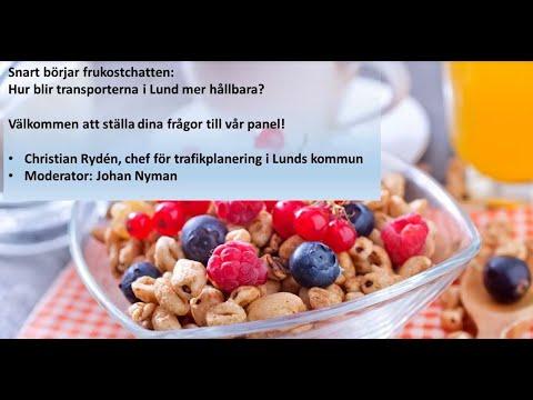 Frukostchatt - hur blir transporterna i Lund mer hållbara?