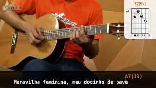 Videoaula Carolina (aula de violão)