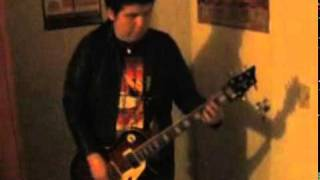 guns n roses - you could be mine (intro) - cover en guitarra por edwin ruiz g.avi