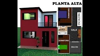 Casa 5 X 10 / House 5x10 estilo moderna