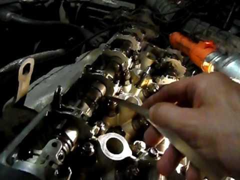 Хонда прелюд регулировка клапанов