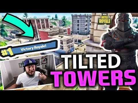 *TOP FORTNITE PLAYER* TILTED TOWERS OR BUST - FORTNITE BATTLE ROYALE