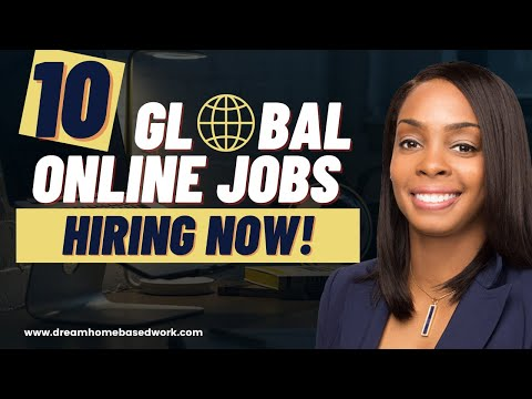 10 Global Work-at-Home Jobs Hiring Now w/ New Cryptocurrency Company