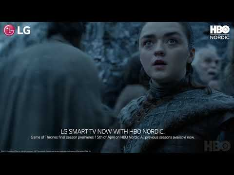 HBO Nordic is now available on LG TVs!
