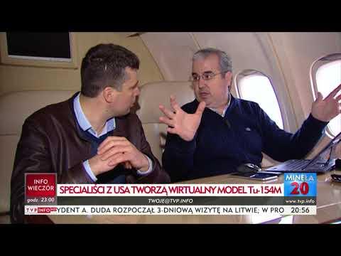 TYLKO U NAS! dr Olivares o cyfrowej rekonstrukcji Tu-154M