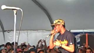 Kid Cudi  - Dat New New (live Roots Picnic '09 in Philly)