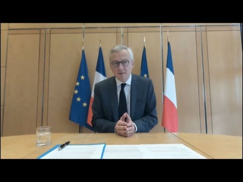 France's Le Maire on EU Debt and Recovery Fund