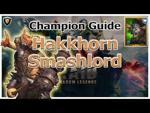 RAID Shadow Legends | Champion Guide | Hakkhorn Smashlord