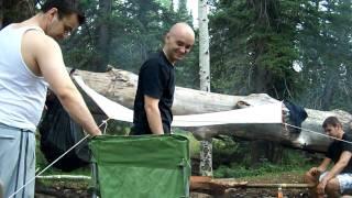 Veselo drustvo na kampovanju....