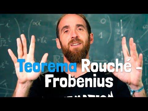 El TEOREMA DE ROUCHÉ-FROBENIUS | Una cumbre de las matemáticas escolares
