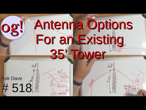 Antenna Options for an Existing 35' Tower (#518)