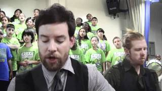 """The Last Goodbye"" David Cook & PS22 Chorus"