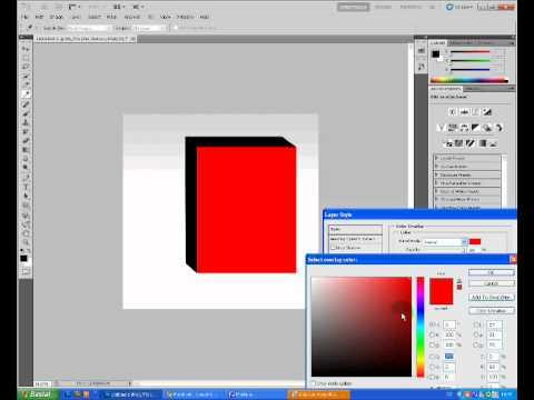 OzgunWeb.org | Photoshop 3D Kutu Yapımı