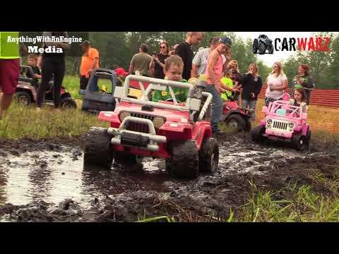 Kids Power Wheels Mud Bog Coming At YA At BFE Mud Bog Summer 2018 Part 03