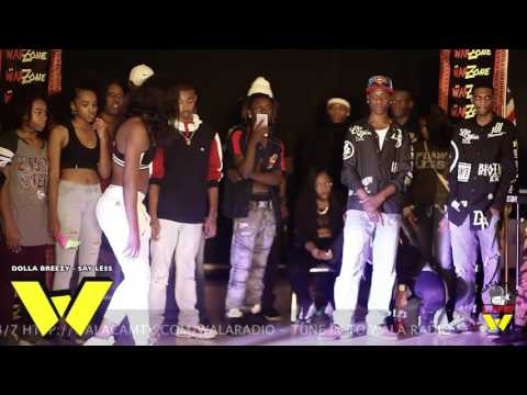 NEW DANCER QJ VS TATY @ DA WARZONE!!!!
