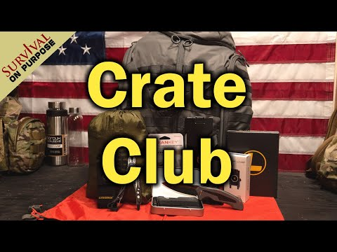 Crate Club July 2020 - A Quarterly Tactical Subscription Box