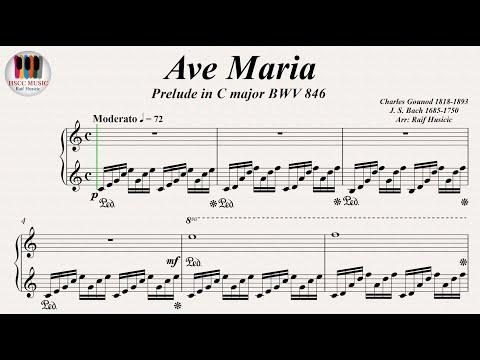 Comment jouer Ave Maria le Prelude de Bach et Charles Gounod au piano
