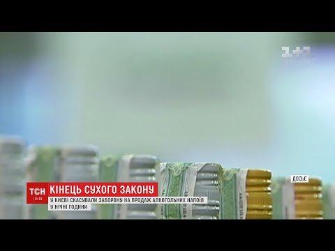 У Києві знову дозволили продавати алкоголь уночі