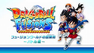 Dragon Ball Fusions N3DS: Battles mechanics, Fusions and more Gameplay!