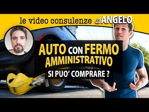 Auto con FERMO AMMINISTRATIVO: si può comprare?   avv. Angelo Greco