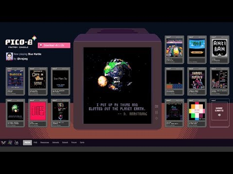CRATER 1.0.0 on Pico-8 by Parlor