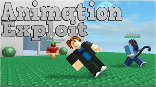 Animation Exploit ROBLOX ( WORKING )