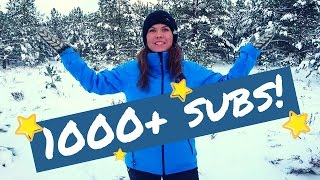 Happy dance for my 1000+ subscribers!