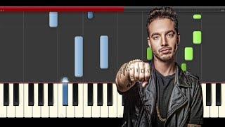 J Balvin  Mi Gente Piano Willy William Midi tutorial Sheet app Cover Voodoo Song Karaoke pista