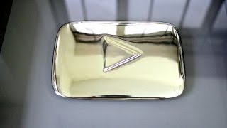 The Silver Play Button!!! YouTube 100,000 Subscribers Award!