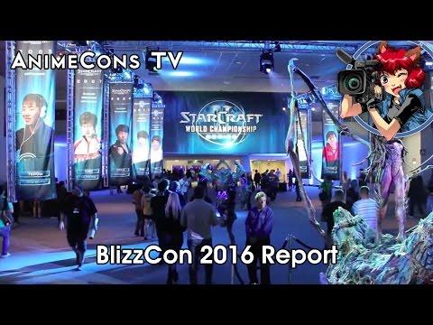 AnimeCons TV - BlizzCon 2016 Report