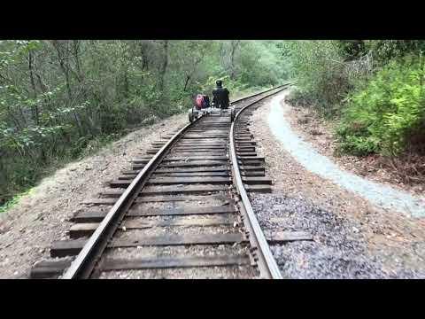 RailBikes in Fort Bragg on the Mendocino Coast