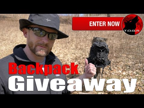 Backpack Giveaway - Enter Now
