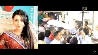 """Погребението на Пратюша Банерджи (АНАНДИ) от ''Малката булка"""" Pratyusha Banerjee, Funeral"""