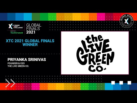 Extreme Tech Challenge Global Finals: Startup Pitches Part 2 - The Live Green Co