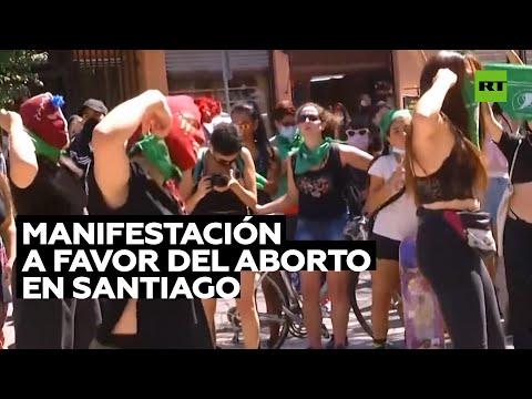 Manifestaciones a favor de la despenalización del aborto en Chile
