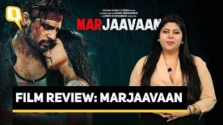 Marjaavaan Film Review | Rj Stutee Reviews Sidharth Malhotra & Tara Sutaria's Latest| The Quint