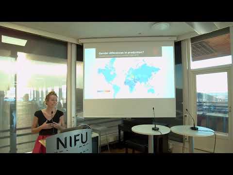 Kjønnsbalanse i forskning – internasjonale perspektiver