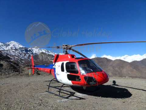 Nepal Helicopter Tour – Everest, Langtang, Muktinath, Annapurna Helicopter Tour