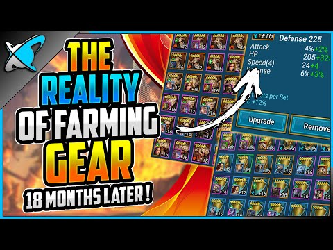 The REALITY of Farming GEAR ! | 18+ Months Later | RAID: Shadow Legends