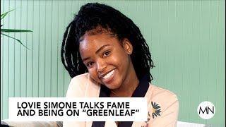 """Greenleaf"" Star Lovie Simone Talks Fame And Working With Oprah"