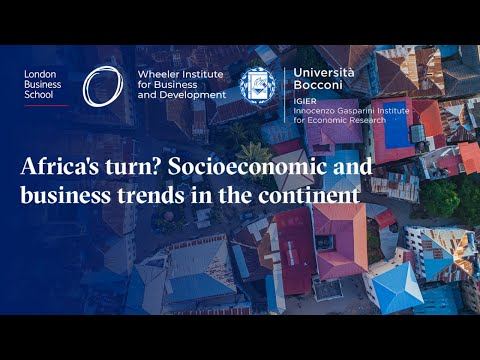 Africa's turn? Socioeconomic and business trends in the continent