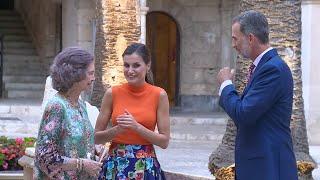 La Reina Letizia y Doña Sofía derrochan complicidad