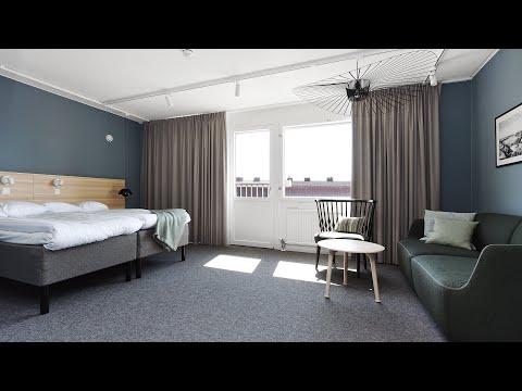 Direktorsrum som dubbelrum med badkar på Ersta konferens & hotell