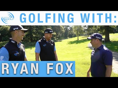 Golfing With The LONGEST HITTER on EUROPEAN TOUR - Ryan Fox | Me and My Golf